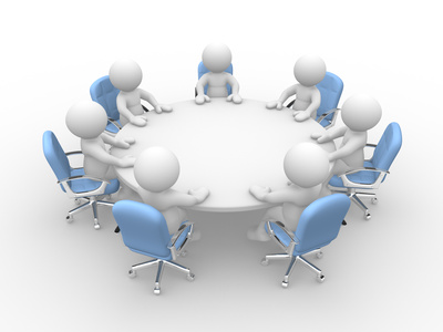 Administrative Board Meeting with Pot Luck